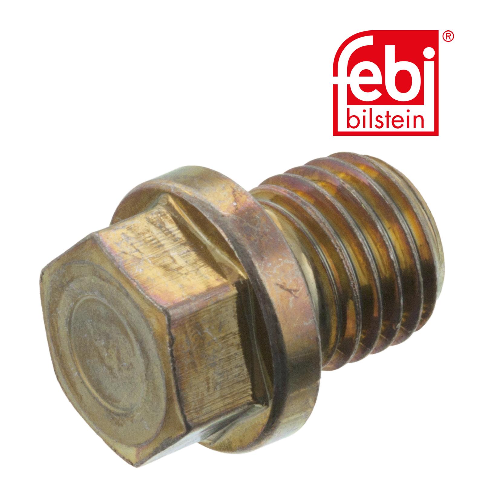 Verschlussschraube, Ölwanne FEBI BILSTEIN 05961 CHRYSLER MERCEDES-BENZ EVOBUS